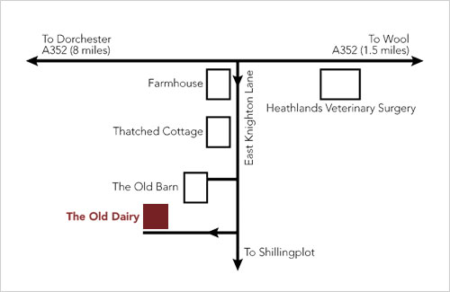 The Old Dairy Map